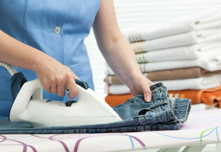 Our in-home laundry services help Boise area families with everyday laundry & ironing, and dry cleaning runs.